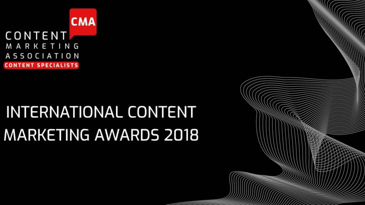 International Content Marketing Awards 2018