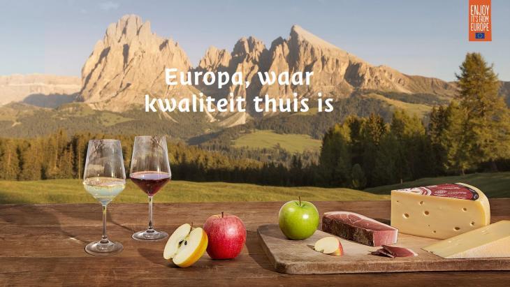 Europa, waar kwaliteit thuis is