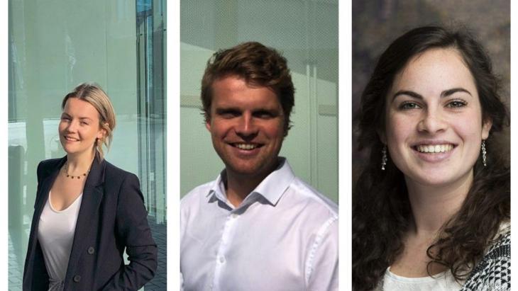 Liz Zoetekouw, Pepijn Veerman, Lisanne Nieuwland