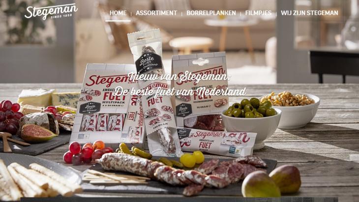 Homepage Stegeman