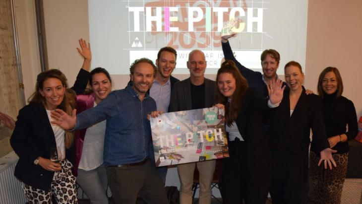 Winnaars The Pitch 2018