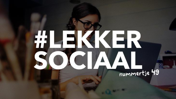 #lekkersociaal