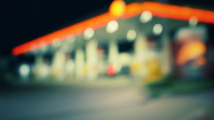 Tankstation Shell