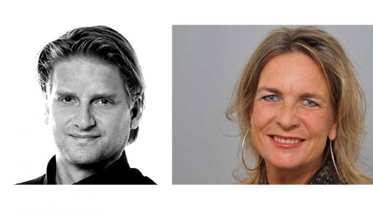Vincent Siegelaar en Linda Boks