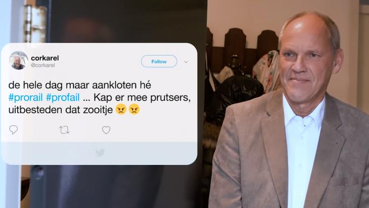 Prorail zoekt boze Twitteraars op