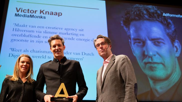 Victor Knaap is Adformatie Person of the Year