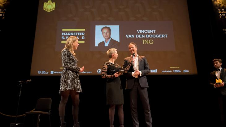 Winnaar Marketeer of the Year 2018