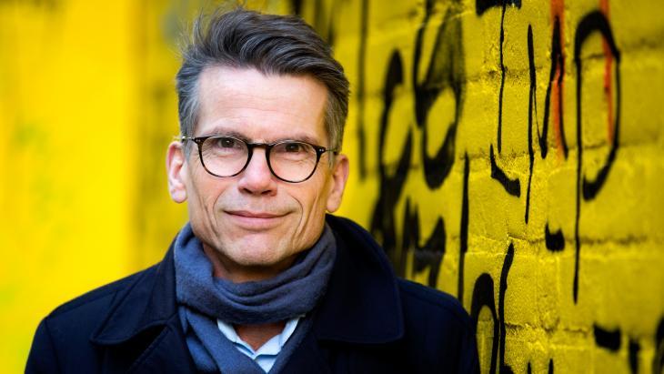 Hans Nijenhuis, de hoofdredacteur van het AD