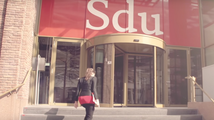 Sdu-gebouw, de entree
