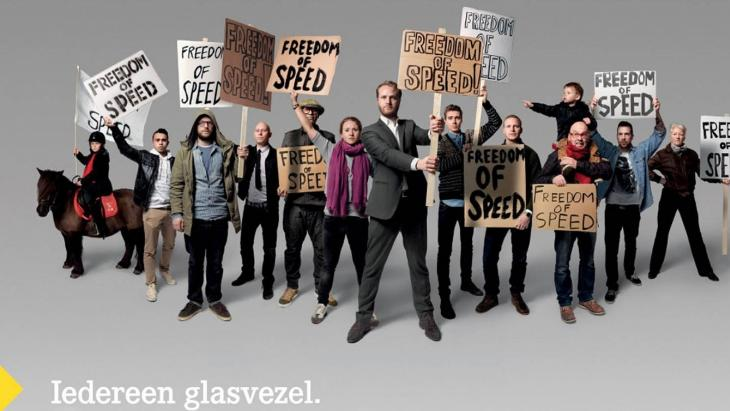 Glasvezel campagne xs4all