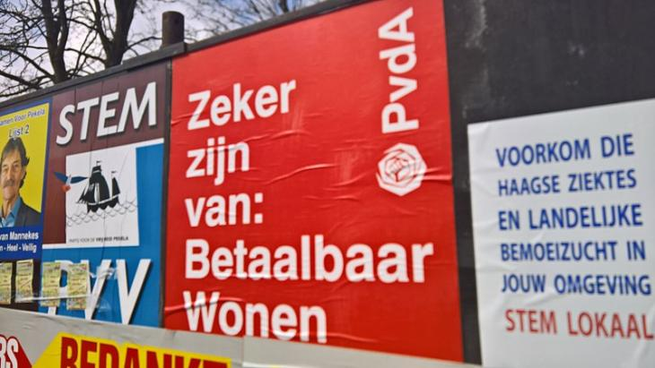 PvdA-verkiezingsposter Groningen