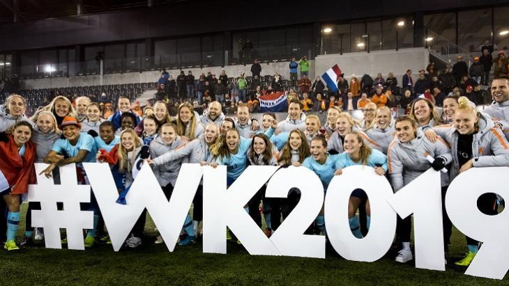 WK Vrouwenvoetbal 2019 - Foto ANP