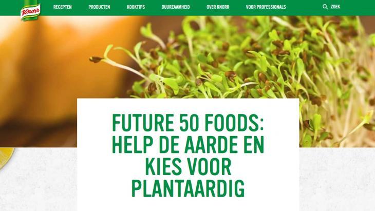 Future 50 Foods