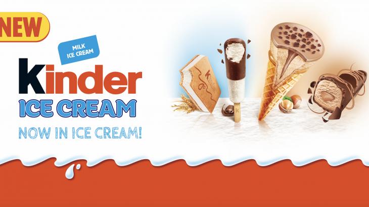 Kinder Ice Cream