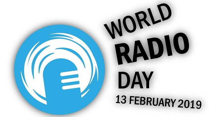 Logo World Radio Day Egta