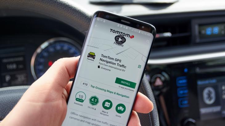 TomTom-app
