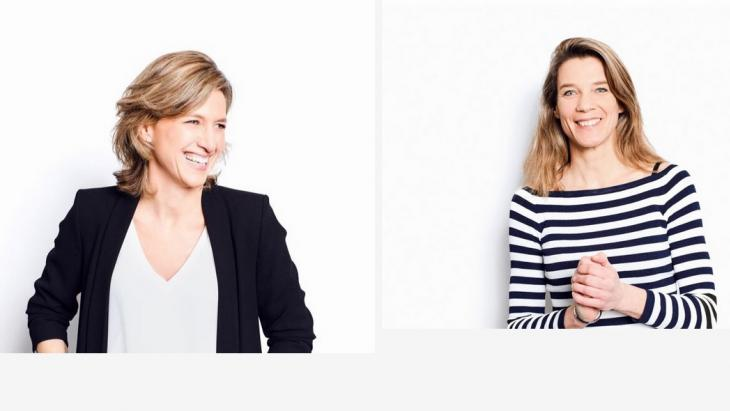 Caroline Schnellen en Donate Vonk