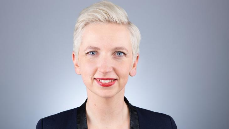 Marijke Roskam, de lijsttrekker van de PvdA in Fryslân