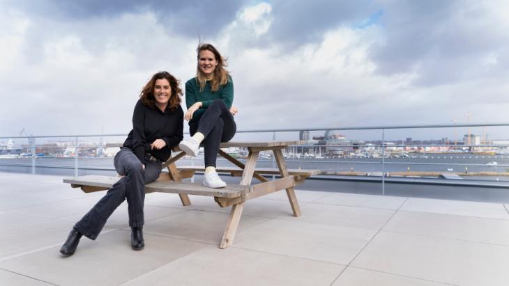 Anne Stokvis en Monique Bergers