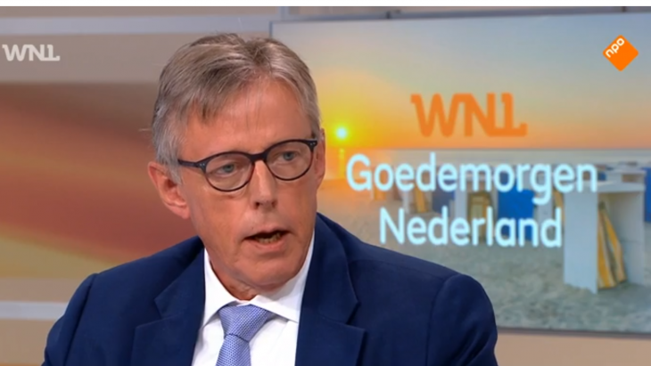 Henri Kruithof adviseert tegenwoordig bedrijven, en treedt op als politiek commentator, hier voor WNL