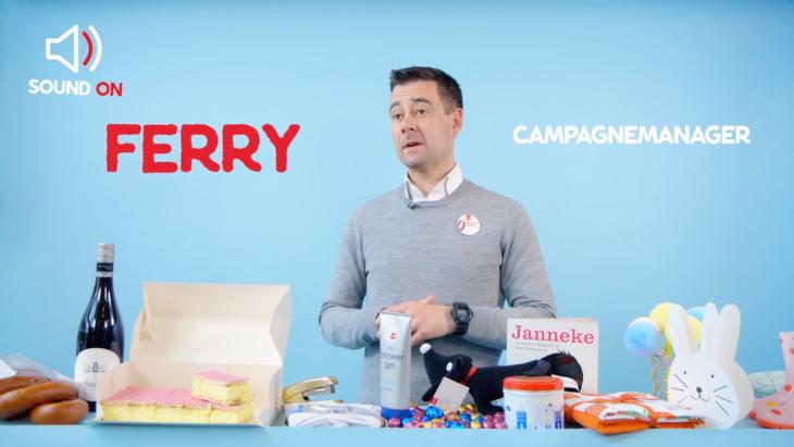 Drie wijze lessen van marketingbazen (1): Ferry Buitenhuis