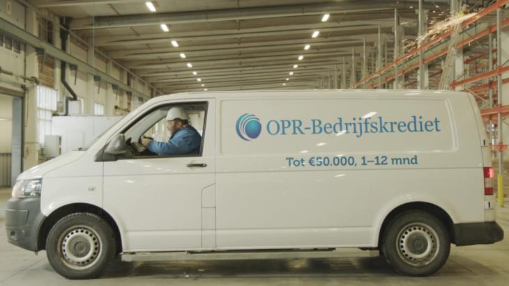 Still uit de campagne van OPR-Finance