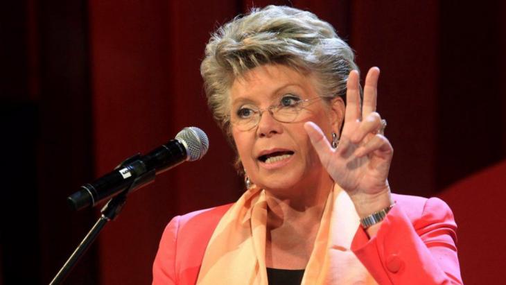 Viviane Reding over GDPR: 'Het zal het leven van bedrijven vergemakkelijken en de burgers beter beschermen.'