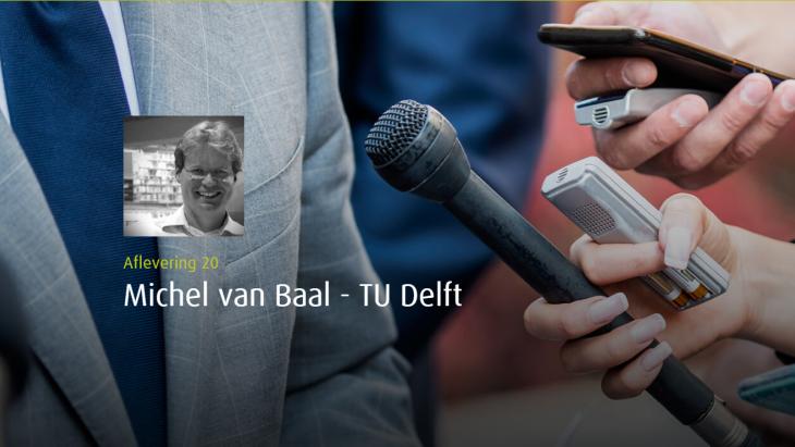 Podcast met Michel van Baal