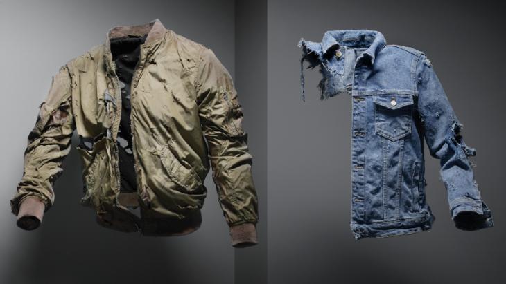 De gescheurde kleren uit de ProRail-campagne