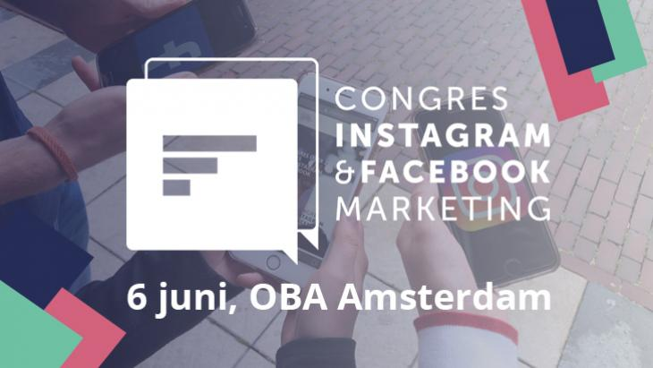 Congres Instagram en Facebook Marketing