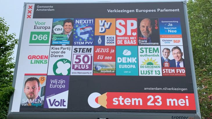 Verkiezingen Europees Parlement 23 mei