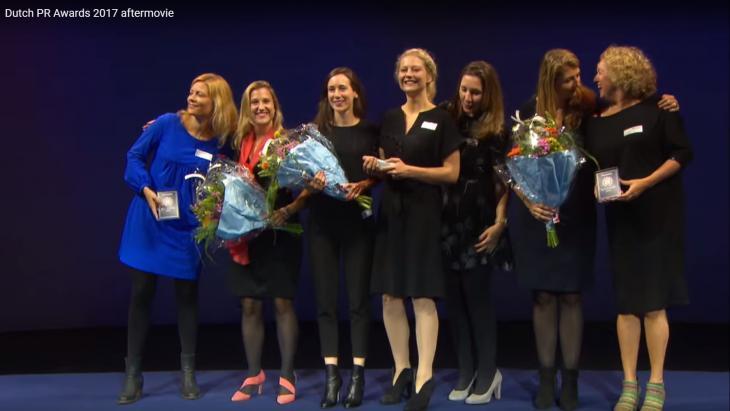 Winnaars van een Dutch PR Award, 2017