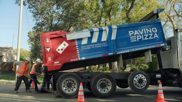 Paving for Pizza