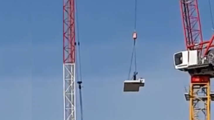 De 'stuntende' bouwvakkers