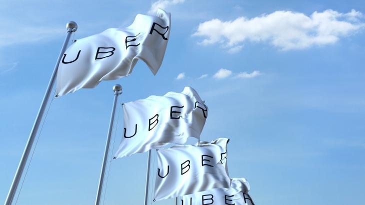 Uber vlaggen