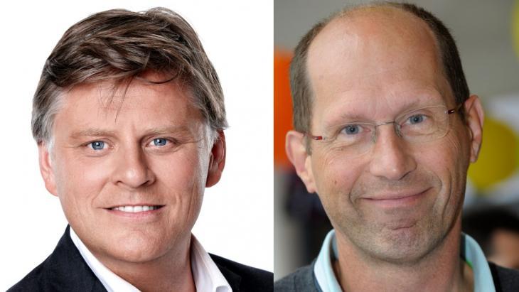 Menno Koningsberger en Paul Römer