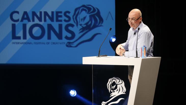 Alan Jope, de purpose washing-basher van Cannes