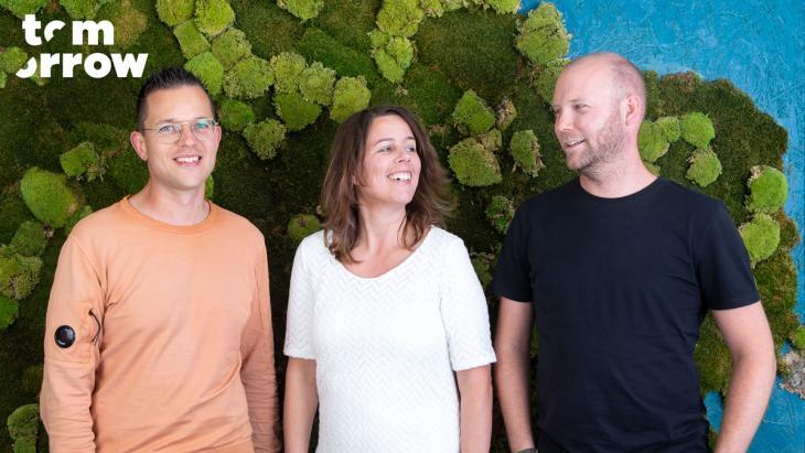 Micha Commeren, Petra Lubbers en Merlijn van Vliet (Fotografie: Anne-Claire Lans)