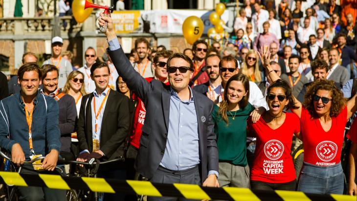 Prins Constantijn trapt de vorige editie af