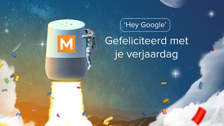 Gefeliciteerd met je eerste Voice verjaardag in Nederland, Google!