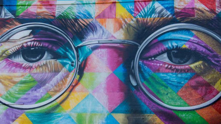 John Lennon, straatkunst