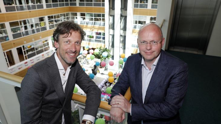 Kees Wilbrink (links) en Rob Kolkman