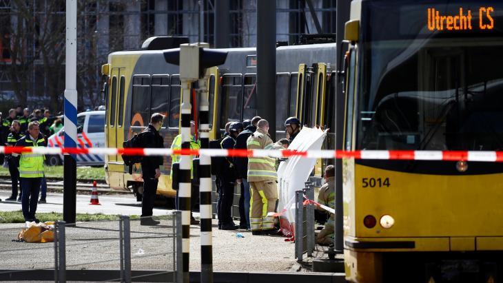 De tram in utrecht waarin de aanslag plaatshad