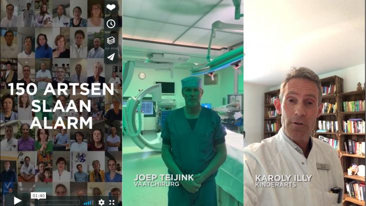 Artsen plaatsen video