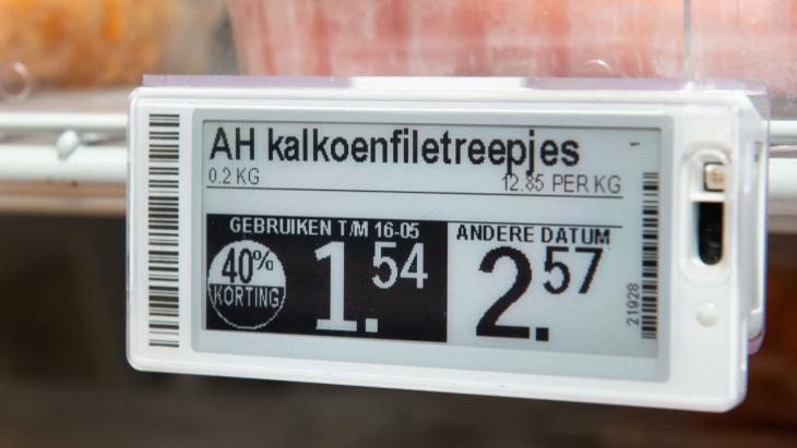 Elektronische prijskaartjes
