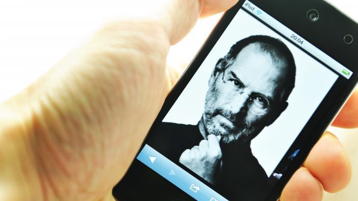 Steve Jobs mobiel