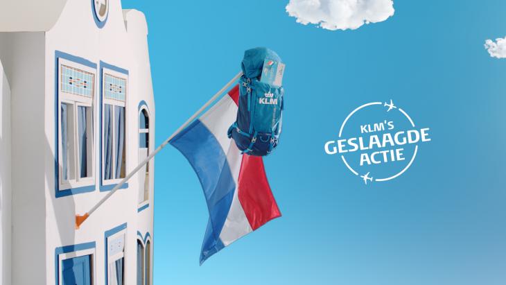 Het goede voorbeeld KLM, dat al lang terug heeft ingezet op technische integratie van marketingkanalen