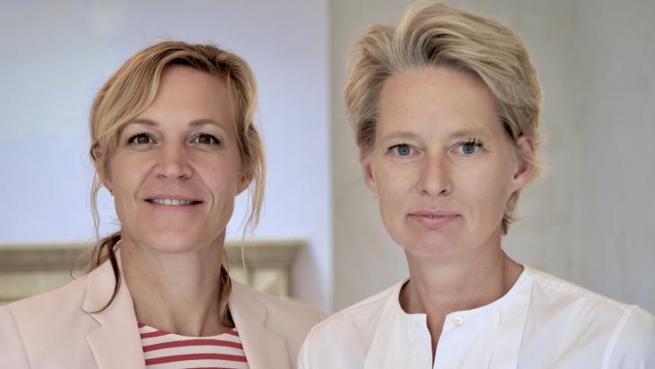 Mijntje Cuijpers en Anneke Bos