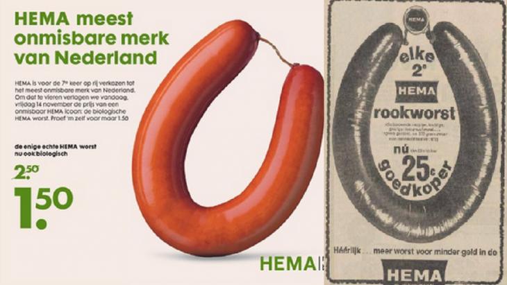 Hollandse Hema-worst