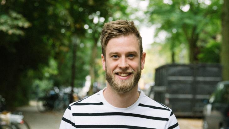 Rens Quirijnen, creative director van Het PR Bureau